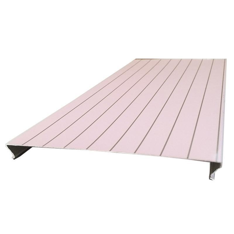 防风铝条扣天花吊顶厂家定制加油站S形仿木纹铝条板