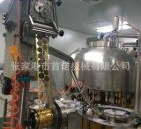 豆奶、牛奶瓶灌装封口机 酸奶灌装设备 铝箔制盖封口