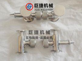 卫生级带取样阀快装液位计、玻璃管液位计