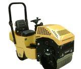 汽油动力小型座驾式振动压路机RWYL41(机械转向)