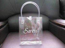 pvc环保手提袋 透明手提包