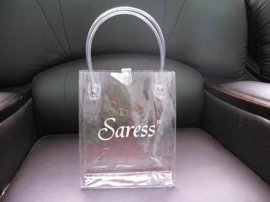 pvc環保手提袋 透明手提包