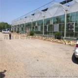 蔬菜薄膜連棟溫室大棚 大型智慧薄膜溫室 德源溫室
