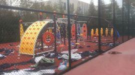 深圳攀爬钻洞滑梯组合,深圳户外儿童绳网攀爬