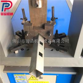 方管断料机 角铁方管下料裁断一体机 扁钢切断模具