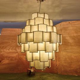 1.8米定制灯具 售楼处大堂吊灯详发灯饰8010