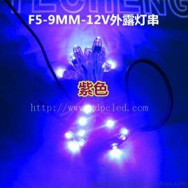 12V挂树灯串、装饰灯、发光灯串、广告灯串