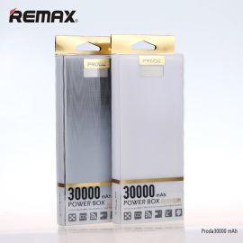 remax玲珑超大容量充电宝手机平板通用型液晶显示移动电源30000MAH