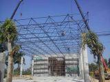 WJ-兴元牌4S汽车展厅屋盖网架设计、加工