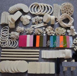 长海毛毡生产机械毛毡垫,毛毡垫圈,毛毡密封条