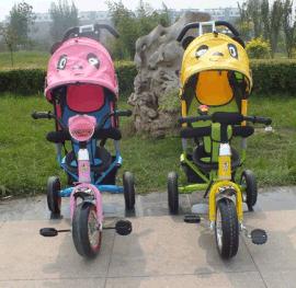 儿童手推三轮车
