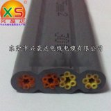 兴晟达电线供应TVVB 24芯0.75平方扁电缆 36芯扁电缆