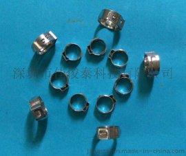 不锈钢管夹  微型管夹 不锈钢单耳管夹 双耳管夹  单耳无极卡箍