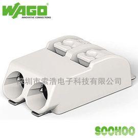 原装WAGO万可 LED贴片接线端子 2060-402/998-404 带UL认证