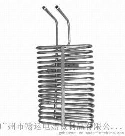 HANYUN低浓度腐蚀性溶液加热冷却钛弯管换热器