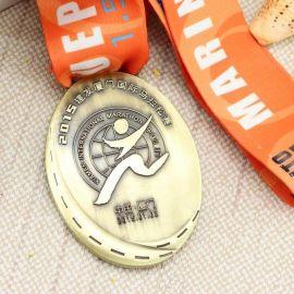 内蒙古金属奖牌定制 体操运动会奖牌制作厂家