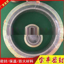 法兰密封垫304不锈钢碳钢销售内外环金属垫外环金属缠绕垫片生产