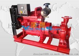 IS125-100-200柴油水泵机组 消防泵组
