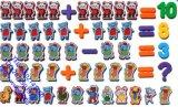 儿童磁铁教具数字拼音字母符号磁性贴冰箱磁力贴玩具