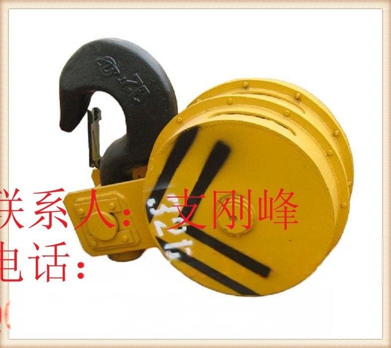 G883 10吨半封(全封)吊钩组,双梁吊钩组,天车吊钩组,滑轮组厂家