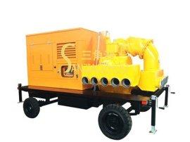 KDFY真空辅助拖车式移动泵站
