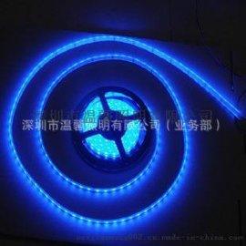 特价供应LED 5050贴片灯条灯带 KTV酒店家居出口 节能灯饰蓝色