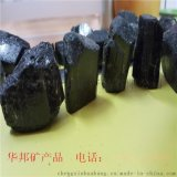 厂家直供优质电气石粉黑色电气石块用于汗蒸房建材