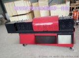 全自动脚手架钢管调直机多功能一体化钢管调直﹑除锈﹑涂漆多项操作