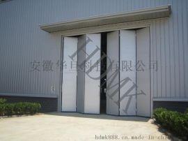电动折叠门电厂大门,电厂电动折叠门厂家,钢制折叠门批发