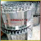 寧津華興生產的新型凸點擋邊鏈板 是一種食品不鏽鋼防滑傳送鏈板
