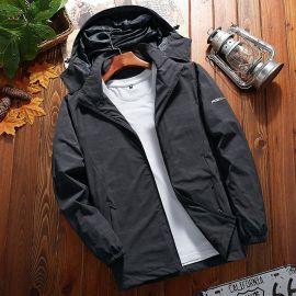 秋季新款户外冲锋衣薄款防风透气运动外套风衣