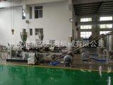 塑料PVC造粒用錐形雙螺桿擠出機/粉末造粒/廢料回收再利用設備