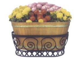 特价三禾实木花箱200元|木质花箱