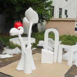 厂家定做生产玻璃钢组合雕塑,动物雕塑 广场公园雕塑 可个性定制