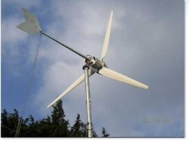 1kw小型家用水平轴风力发电机