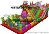 江苏徐州最新喜洋洋攀岩大滑梯充气城堡热销