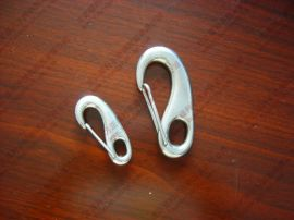 不锈钢蛋形弹簧钩,蛋形钩,月牙钩