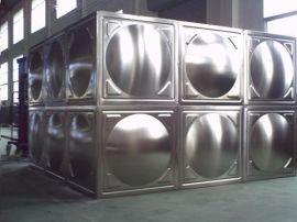 盐城不锈钢圆形水箱, 消防工程 拼接水箱,不锈钢组合式水箱不锈钢膨胀水箱