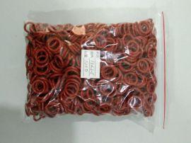 模具配件 红色耐高温O型密封圈 硅胶密封圈 密封件 防水胶圈