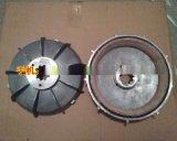 YEZ132S-4錐形轉子電機剎車風葉制動輪 3.0/4.5/5.5kw電機剎車盤 適用攪拌機起重機