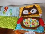 婴儿玩具宝宝布书6页早教布绒玩偶定制