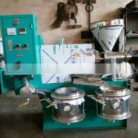 商用花生榨油机 车载式小型螺旋榨油机械设备