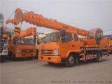 唐骏698底盘12吨吊机 龙昕12吨吊车吊机