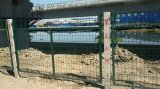 鐵路沿線隔離圍欄網 遜克鐵路沿線隔離圍欄網廠家供應 河北瀾潤