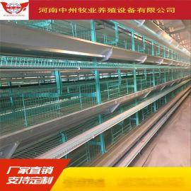 出口品质三层蛋鸡笼四层鸡笼养殖设备直销