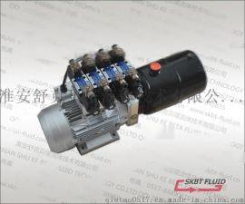 220V2.2KW,6升油箱4组双作用液压动力单元