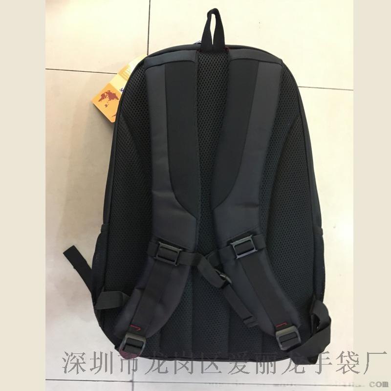 2017新款黑色双肩包