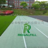regalfill供應人造草坪減震墊與環保空心顆粒與內蒙古科技大學