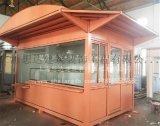 定制高端商场售货亭上海想达岗亭制造商全国配送免费维修售货岗亭