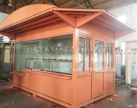 定製高端商場售貨亭上海想達崗亭製造商全國配送免費維修售貨崗亭